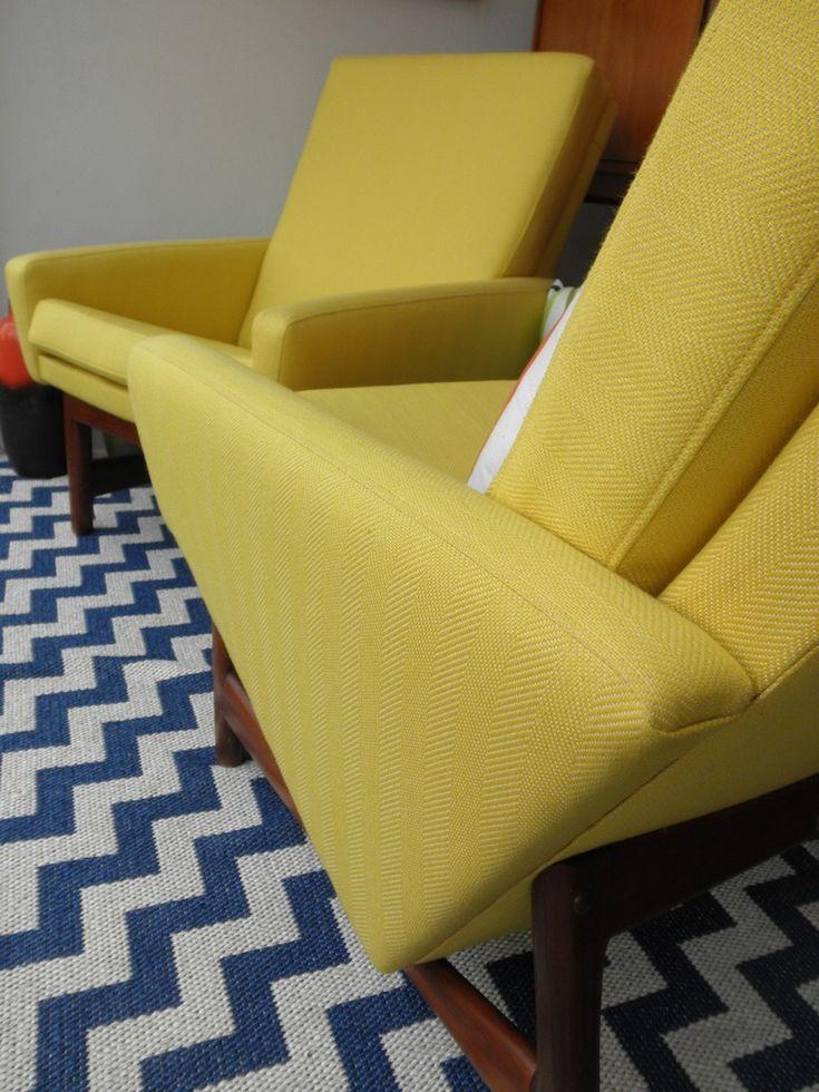 Fred Lowen Flerholme chairs by FLER