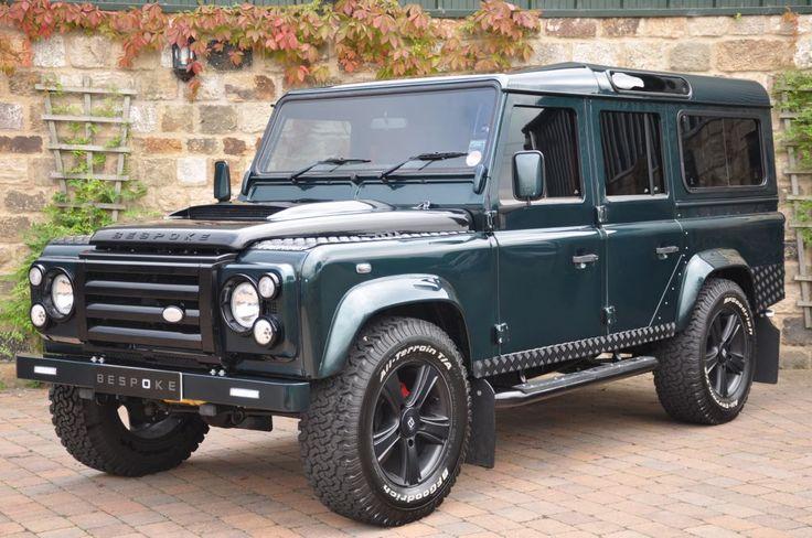 Bespoke Land Rover Defender 110