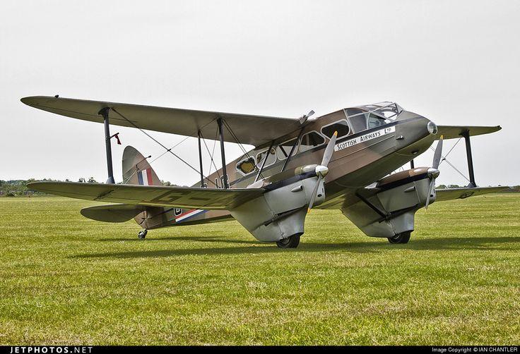 De Havilland DH-89A Dragon Rapide G-AGJG 6517 Duxford - EGSU - a very pretty little aeroplane