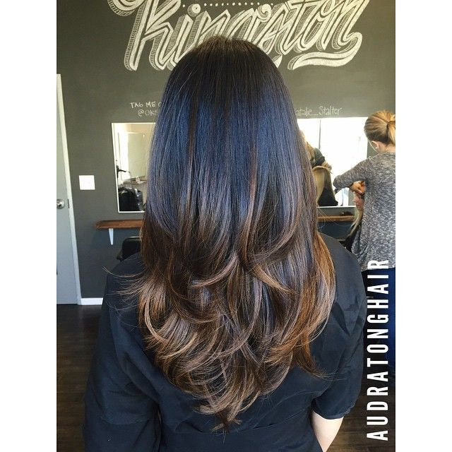 "Ombre Soft ""V"" Layers"