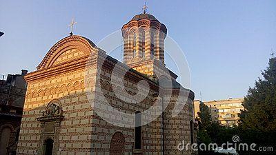 Saint Anton the Great Church in Bucharest, Romania.