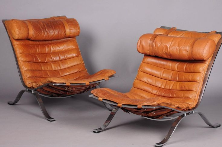 Pair of Arne Norell Armchairs at 1stdibs