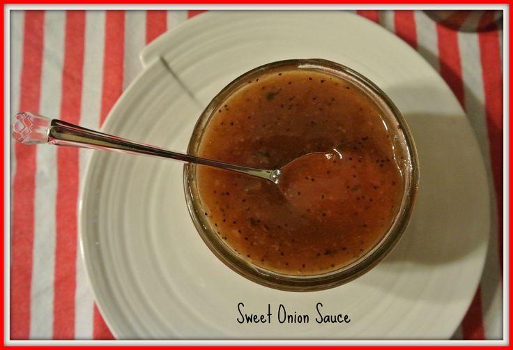 Sweet Onion Sauce Recipe