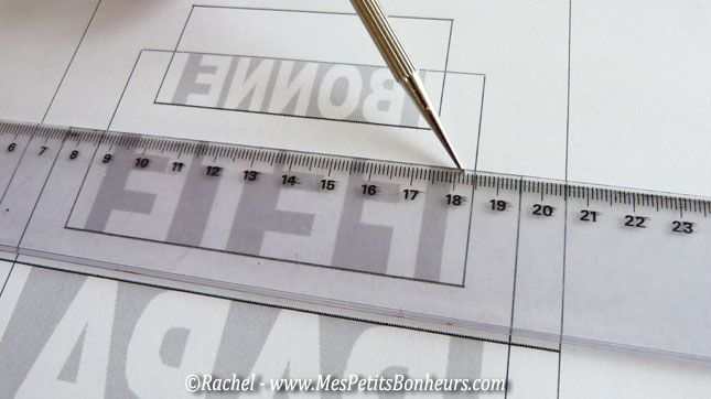 marquer les lignes horizontales