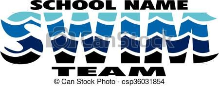 Vector - swim team - stock illustration, royalty free illustrations, stock clip art icon, stock clipart icons, logo, line art, EPS picture, pictures, graphic, graphics, drawing, drawings, vector image, artwork, EPS vector art