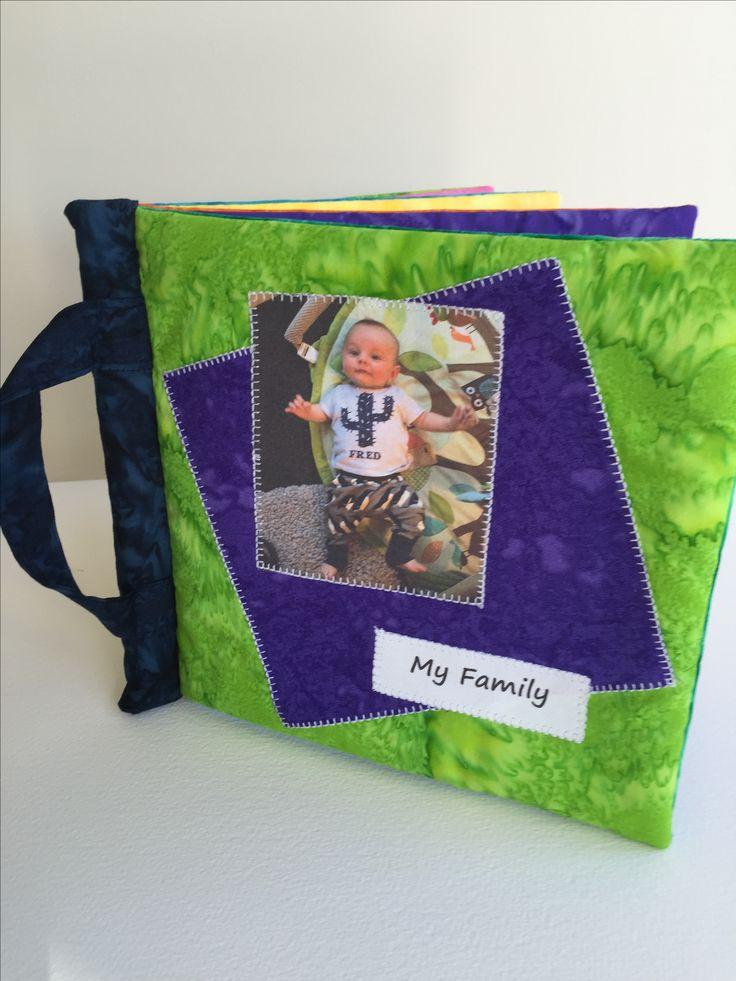 Cloth photo books for little tots. ILoveSaturdayMorning on Etsy