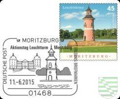 Am morgigen Donnerstag, dem 11. Juni, ist das »Erlebnis: Briefmarken-Team« (E:B-Team) der Deutschen Post in Moritzburg. Neben der in allen Postfilialen erhältlichen Sonderbriefmarke (Wert 45 ct) gibt es exklusiv an dem Stand auch eine limitierte E:B Ganzsache (1300 Stück à 1,20 €) und einen Sonderstempel.