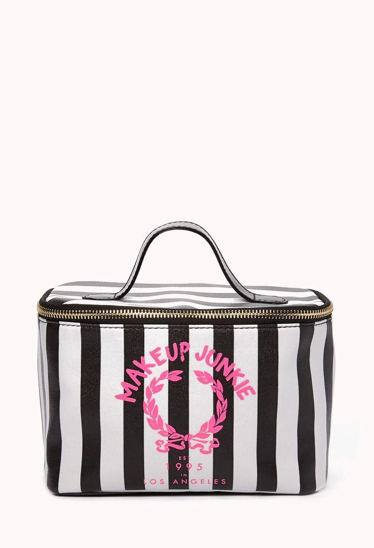 Makeup Junkie Cosmetic Bag | FOREVER21