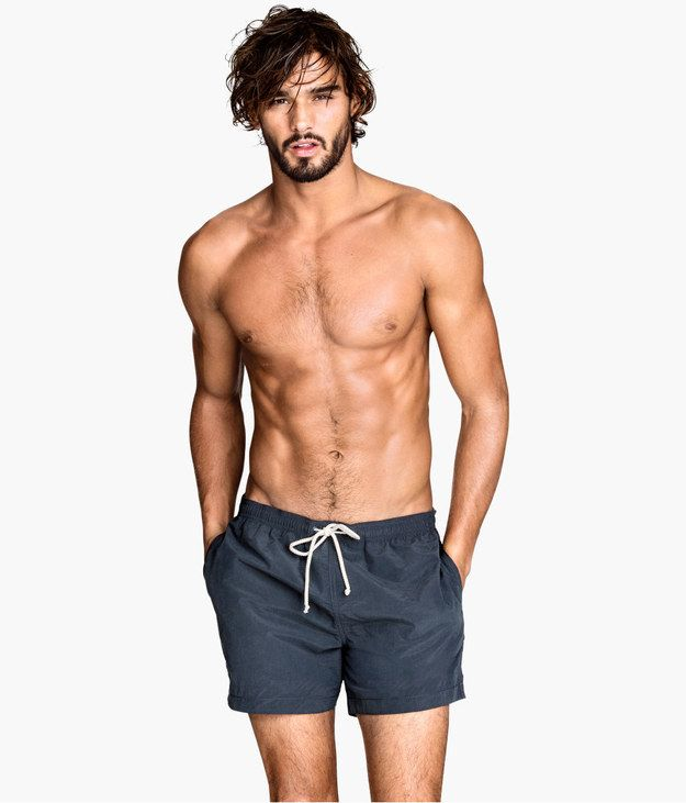 * Sweating * | 17 Photos That Prove Short Swim Trunks For Men Are A Gift From Above