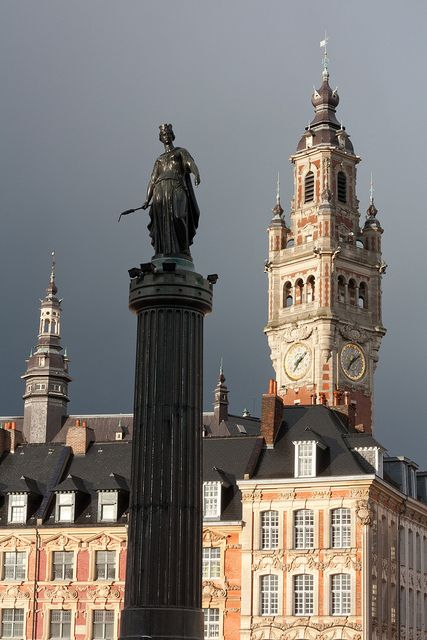 Lille - La colonne de la Déesse -- France -- par Franck Vervial