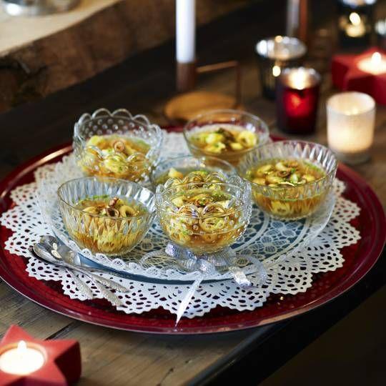Recept - Runderbouillon met tortellini en gefrituurde knoflook - Boodschappenmagazine #voorgerecht