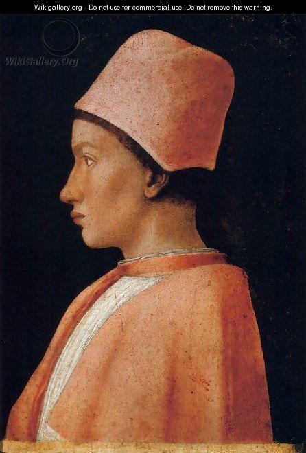 Portrait of Francesco Gonzaga - Andrea Mantegna