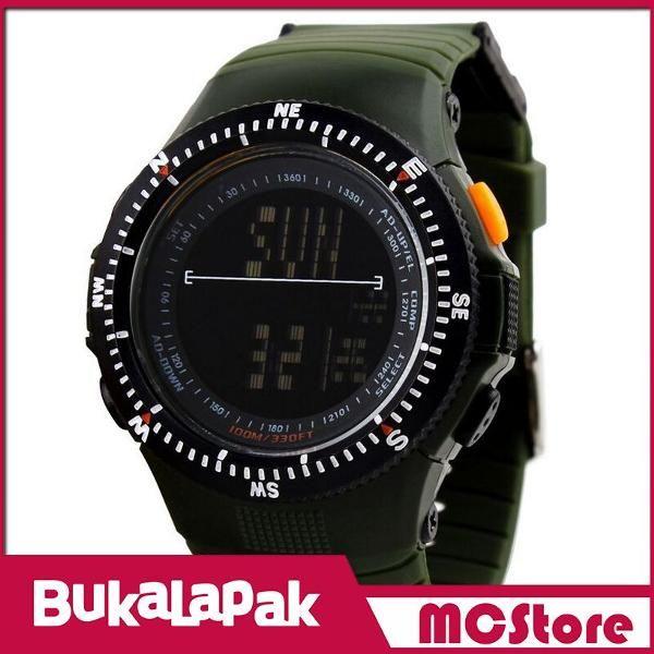 Beli MCStore Jam Tangan Pria SKMEI Sport Watch Water Resistant 50m - DG09891 - Green dari MCStore habibwaldani - Jakarta Barat hanya di Bukalapak