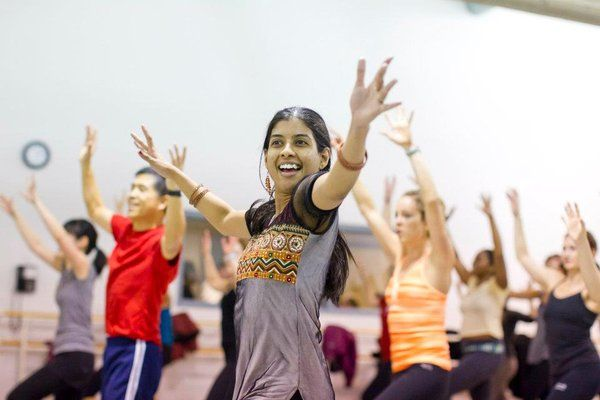 Bollywood Groove- workout classes in Evanston- check back at groupon and  yelp for coupons - classes at 10am on sundays?