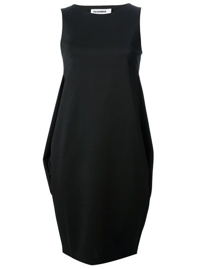 JIL SANDER - pleat detail dress 6