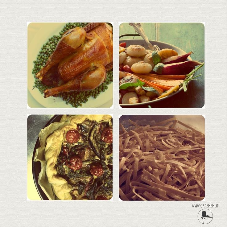 #cadememi #wedding #justmarried #food #goodfood #vegetables #homemade #pasta #tagliatelle #kitchen www.cadememi.it