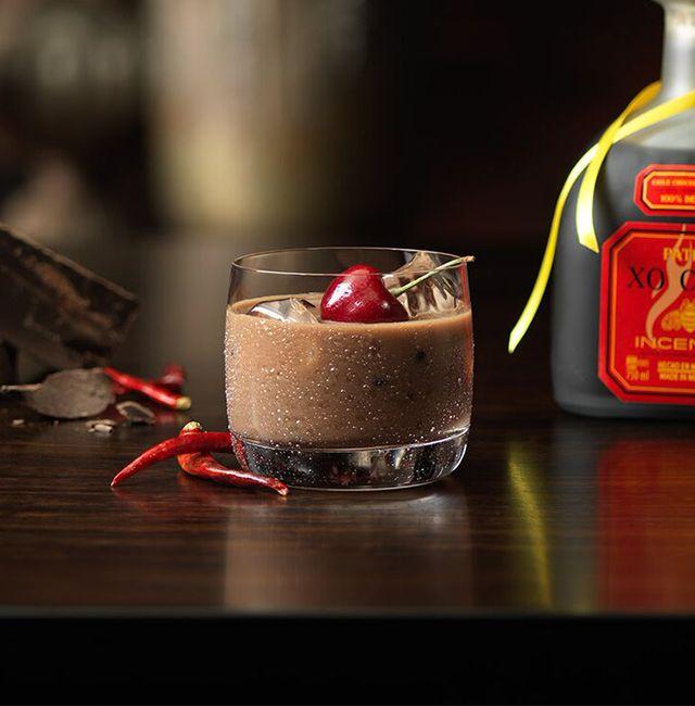 Enjoy Milky Way, a cocktail made with @Patrón XO Cafe Incendio.