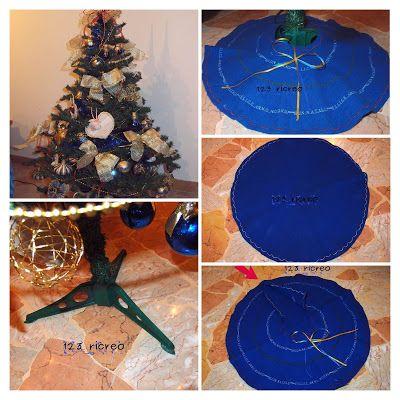 Cucire con 123ricreo: Copri base per l'Albero di Natale