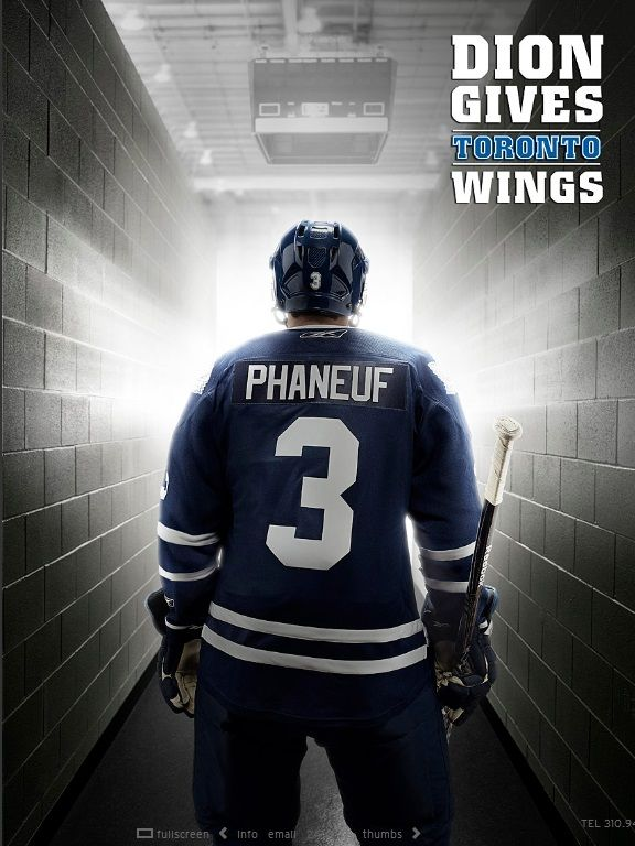 Dion Phaneuf by KC Armstrong