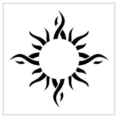 Tattoos Suns on Tribal Sun Tattoo 3 Jpg Picture By Mickeydew75   Photobucket
