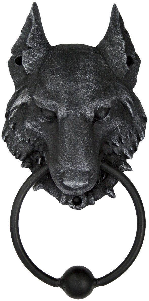 Wild Wolf Door Knocker Nemesis Now Sculptures Dvernye Molotki Dvernye Ruchki Nastennye Kryuchki