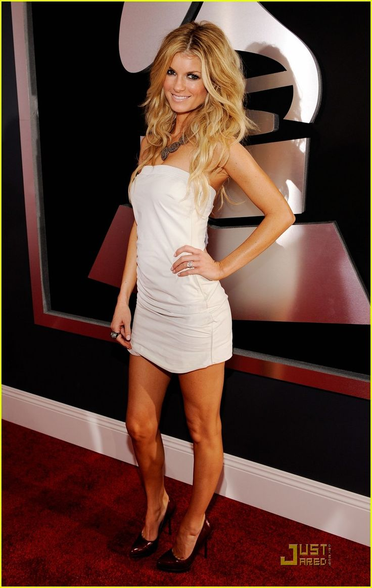 Marisa Miller in her sexy little white dress ♥