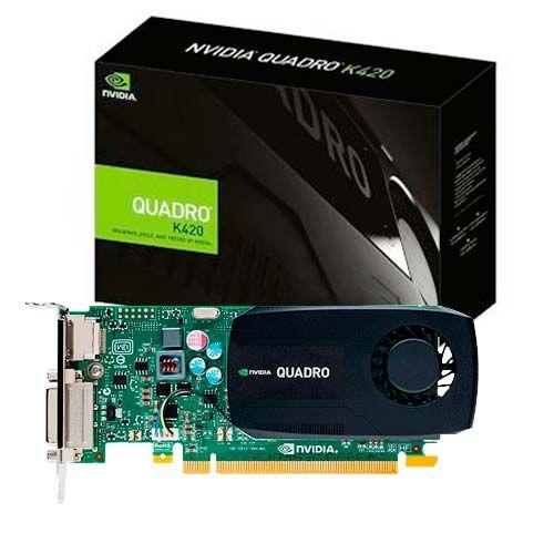 Tarjeta Video Nvidia Quadro K420 1gb Pny 128bit Pcie 2.0 X16 $4455.27 precio sujeto a cambio