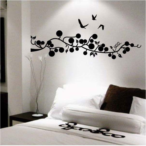 Decorar con vinilos - Decorar paredes con papel ...