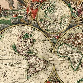 40 High-Res Old Map Downloads- to use in the nursery with our vintage travel theme