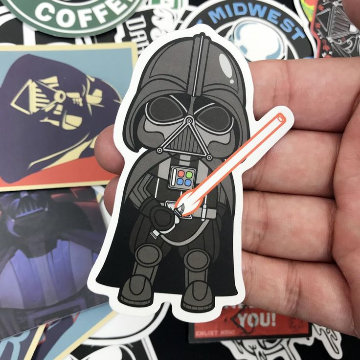Star War 25 pcs Storm Trooper Cartoon PVC Safe Toys Cool Stickers For Kids Children Luggage Notebook Laptop Sticker Car-Styling