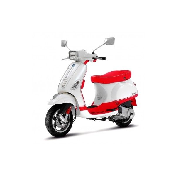Vespa Scooters, New Scooters, Buy Scooters, Scooter Models | Vespa USA ❤ liked on Polyvore featuring bike