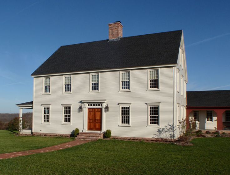 17 best images about exteriors early american style on for Early american house styles
