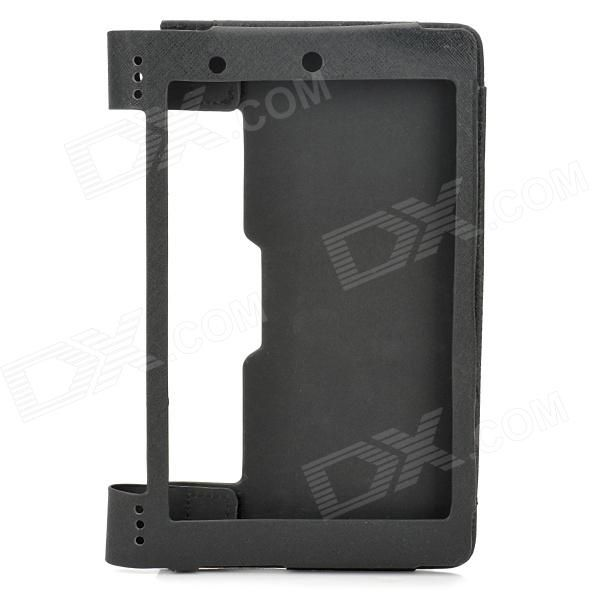 Color: Black; Brand: -; Quantity: 1 Piece; Material: PU leather; Compatible Brand: Lenovo; Compatible Size: 8 inch; Style: Business,Casual,Fashion,Contemporary; Compatible Model: Lenovo Yoga Tablet B6000; Type: Back Covers,Bumper Frames,Leather Cases; Other Features: Protect your device from scratch, dust and shock; unqiue frame stand, provide great angle for viewing; Packing List: 1 x Protective case; http://j.mp/1ljHLUi