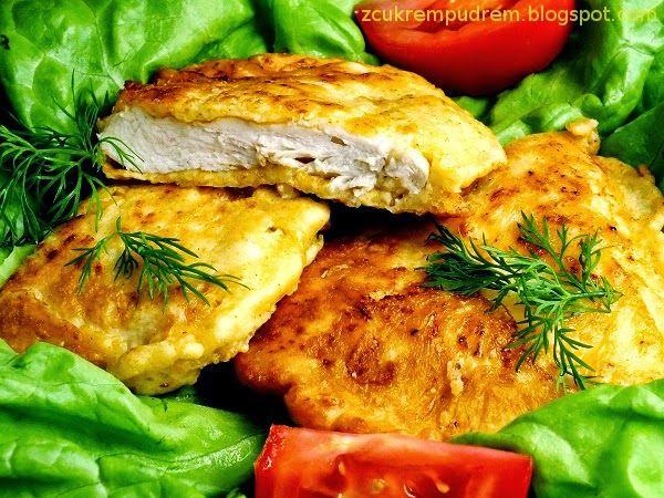 z cukrem pudrem: Kurczak w serowej panierce