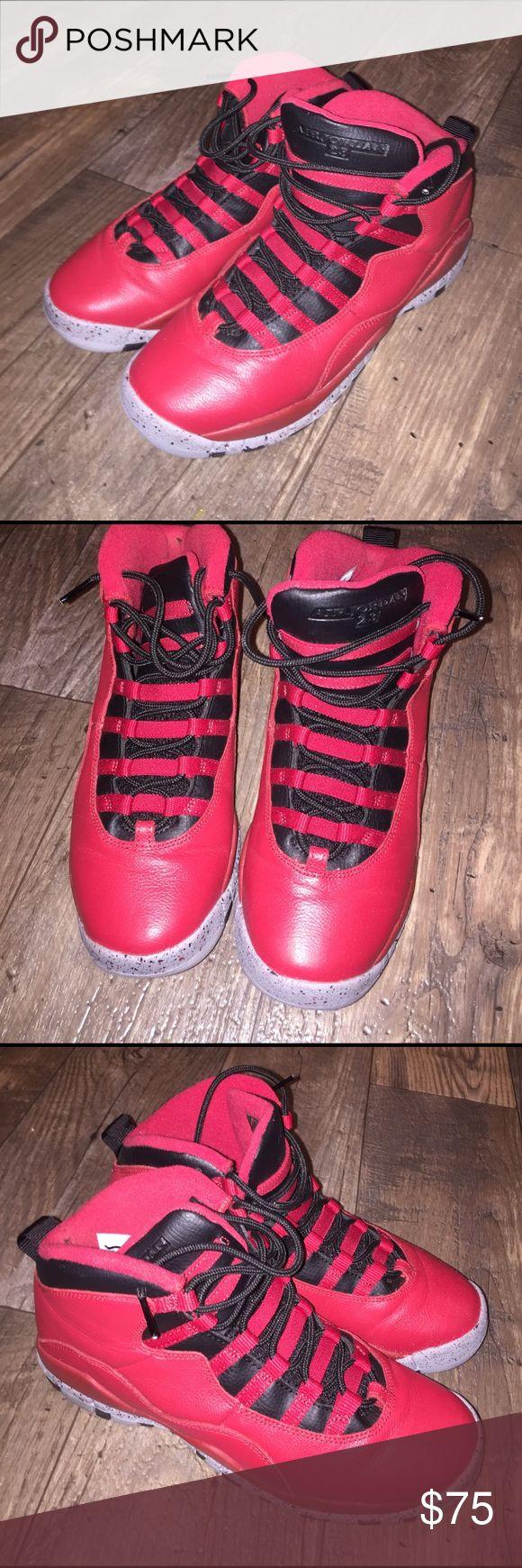 Air Jordan  23 Shoes 7 Red and black airjordan  Shoes Athletic Shoes