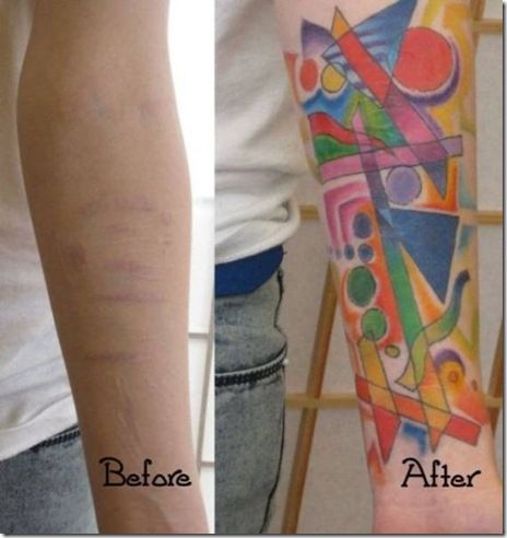 25 unique tattoo over scar ideas on pinterest side for Tattoos over self harm scars pictures