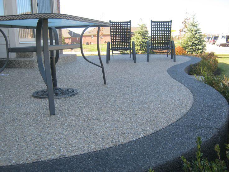 22 best concrete patio images on pinterest | patio ideas, backyard ... - Raised Concrete Patio Ideas