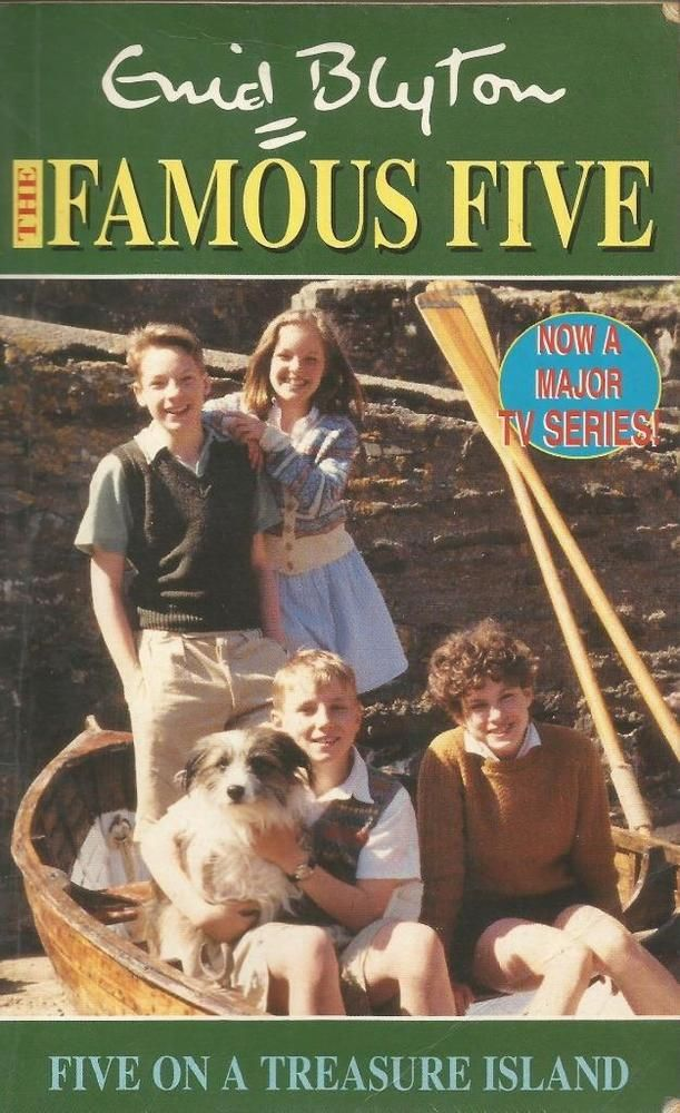 The Famous Five #1 - Five On A Treasure Island by Enid Blyton - P/Back- S/Hand