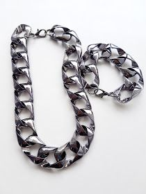 Bold metal chain by An-If in chains