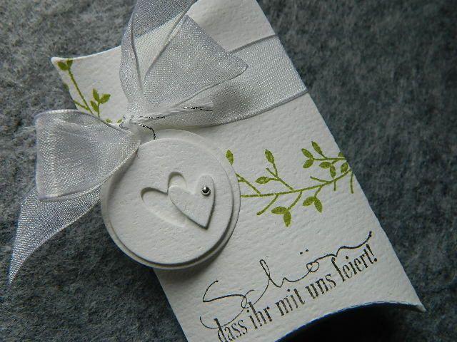 Gastgeschenke für eine Hochzeit