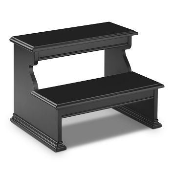 Plantation Cove Black Kids Furniture Bed Step - Value City Furniture $119.99 A must have for those newer type pillowtop mattresses.