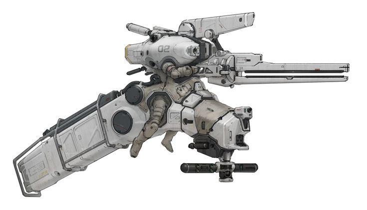 ArtStation - orbital patrol suit 2, Prog Wang