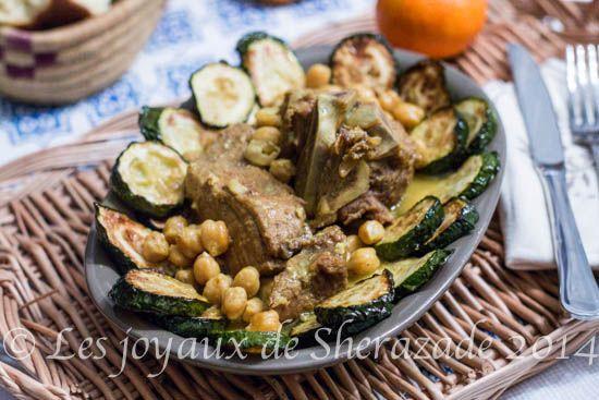 Rago t de courgettes cuisine alg rienne recette cuisine - Cuisine algerienne facebook ...