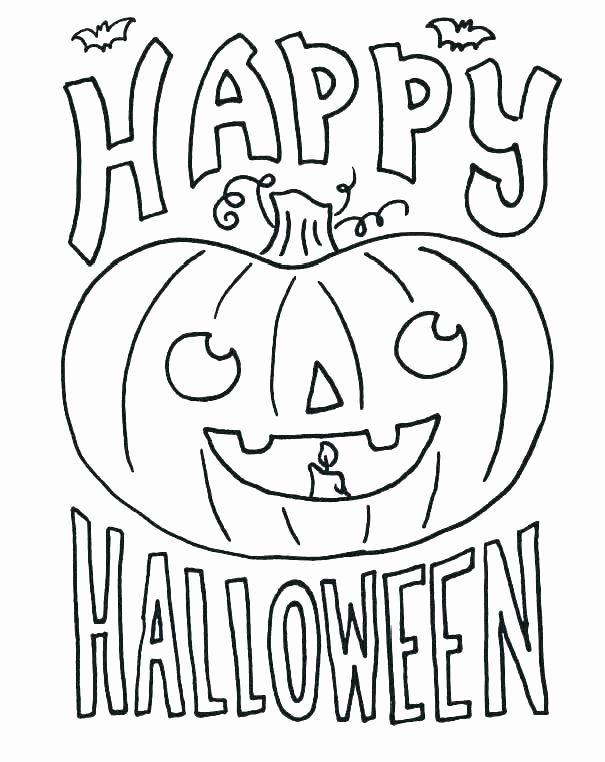 Halloween Coloring Books For Kids In 2020 Halloween Coloring