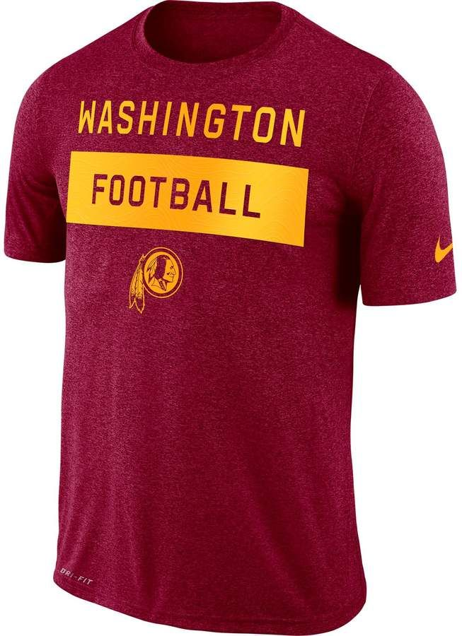 Nike Men s Dri-FIT Washington Redskins Tee  121ed7dc4