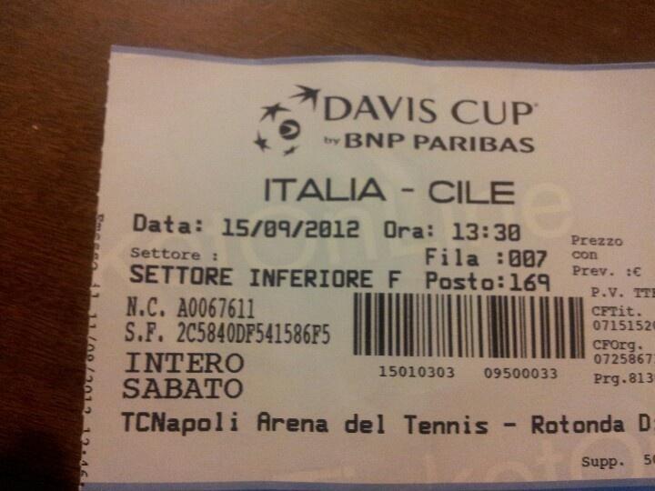 Coppa Davis, nel magnifico stadio del mare a Napoli.