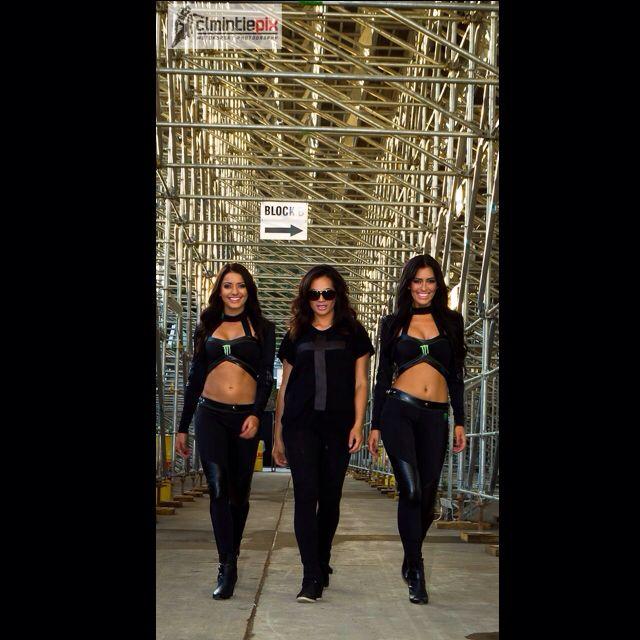 Monster Energy Girls NZ with the Boss Becks McDonell #HBelite  #NZSGP Zeisha, Holly info@HBelite.com