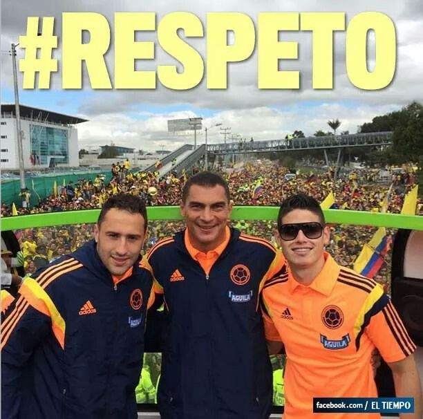 Cracks ! David Ospina , Faryd Mondragon y James Rodriguez