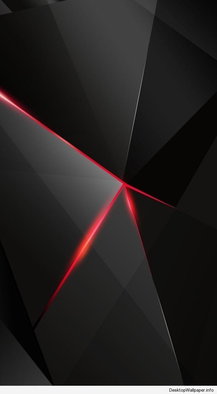 Black And Red Android Wallpaper Desktopwallpaper