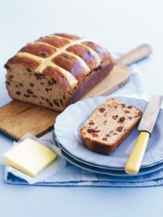 M do a fab hot cross bun loaf... perfect for the toaster. Mmmmmmm.